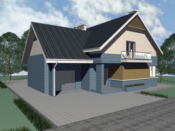 Проекты домов из газоблоков. Дом из газоблока в Сочи